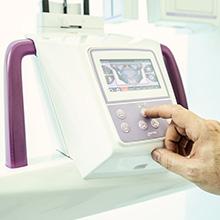 Máquina de radiografía dental